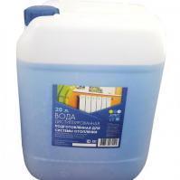 Подготовленная вода для систем отопления
